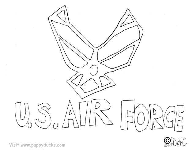 air force pin up coloring pages