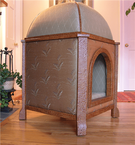 couture domed pavilion dog bed - Você daria este colar para seu Pet?