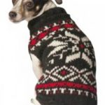 chillydog sweater black snowflake