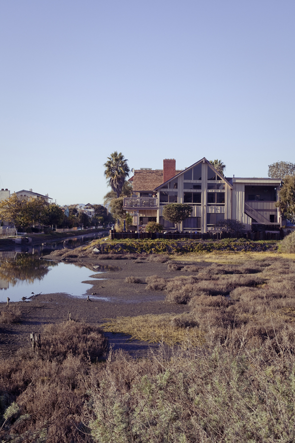 Balloona Creek, Marina Del Rey, Los Angeles.