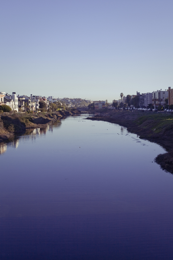 Balloona Creek, Marina Del Rey, Los Angeles.
