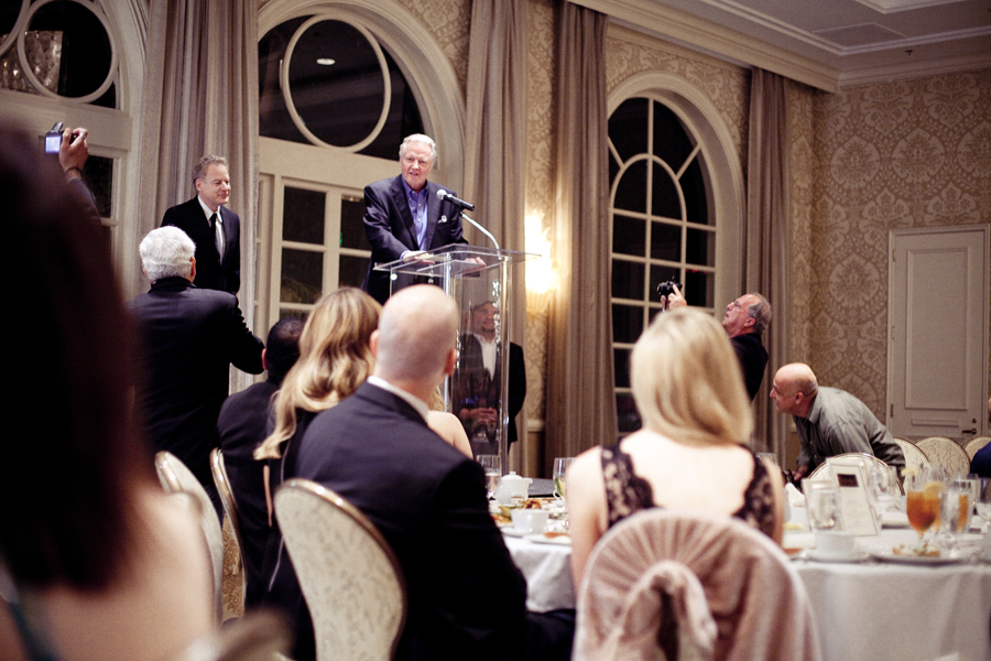 Jon Voight talking at the Beverly Hills Film Festival awards ceremony at the Four Seasons Hotel.