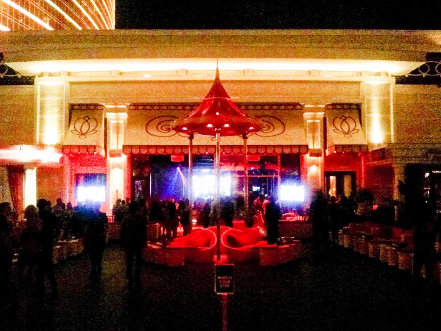 Surrender nightclub in Las Vegas.