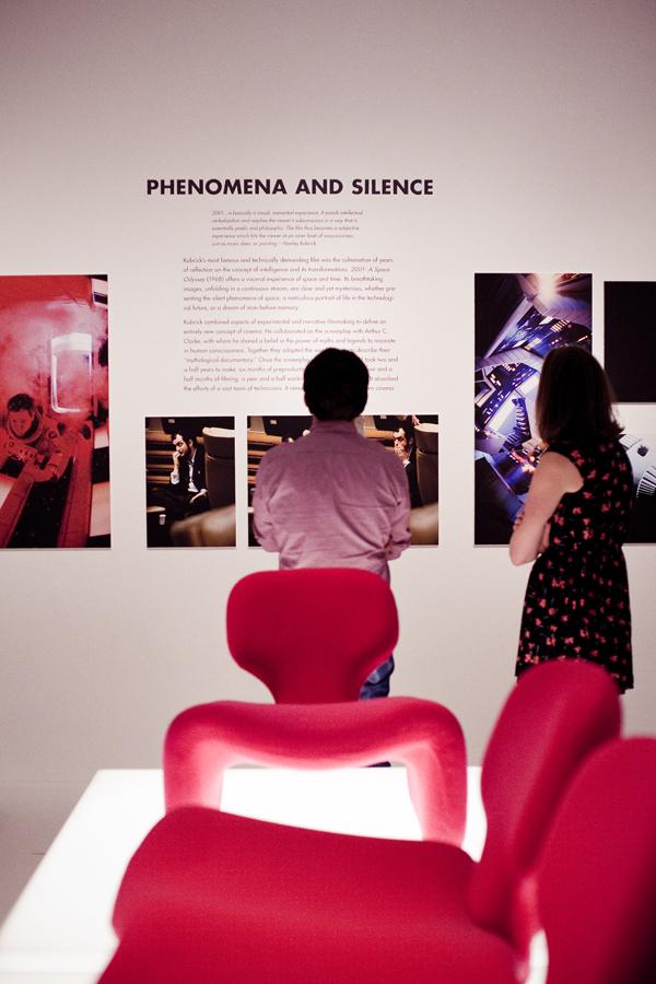 Stanley Kubrick exhibit at LACMA.