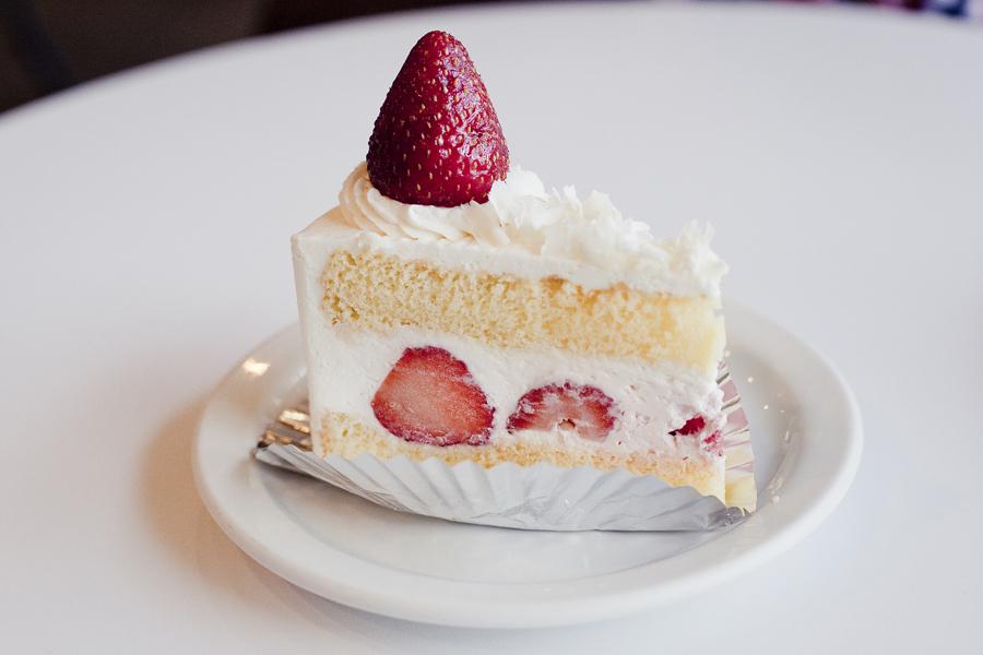 Strawberry Shortcake at Beard Papa's.