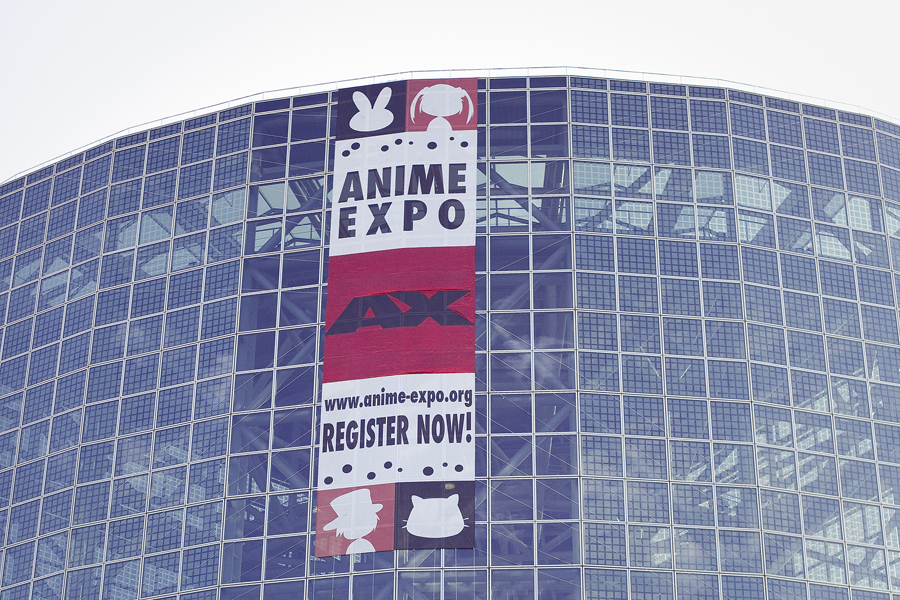 Banner at Anime Expo 2013.