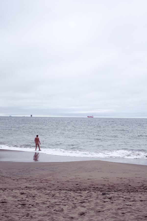 Baker Beach in San Francisco, California.