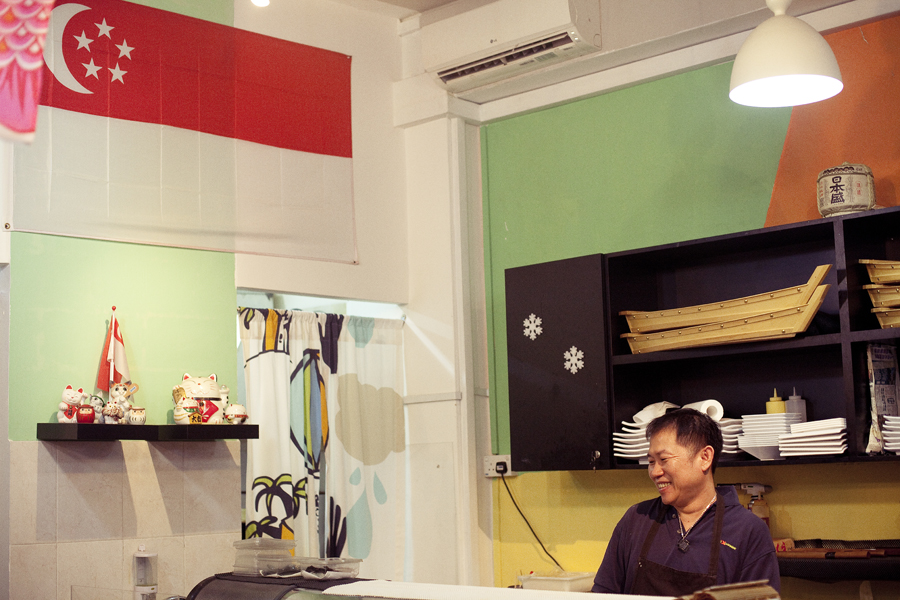Interior of Sushi Xchange.