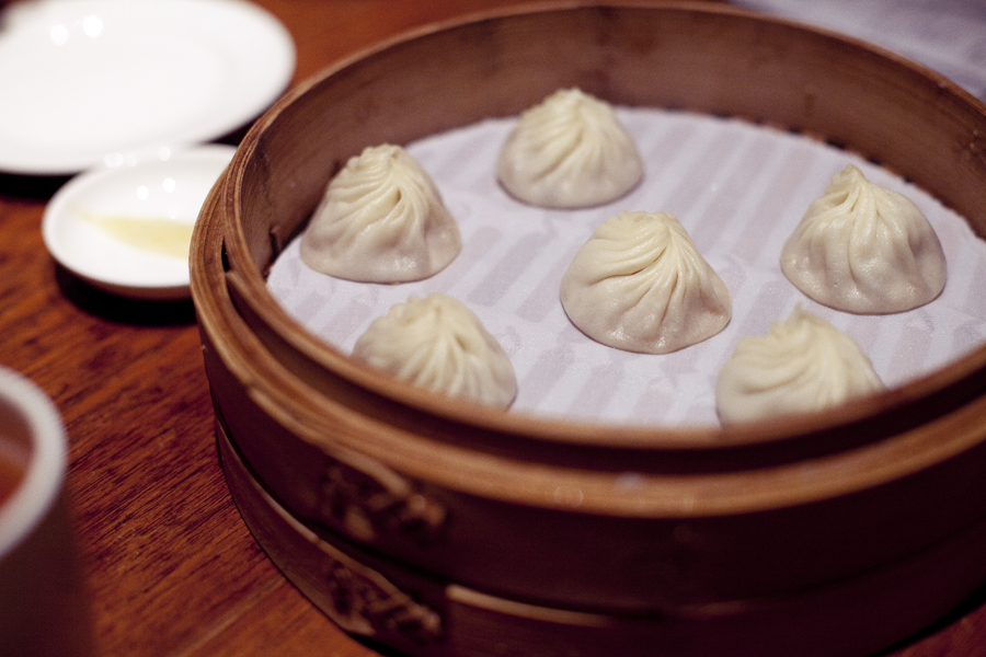 Xiao Long Bao dumplings at Din Tai Fung.