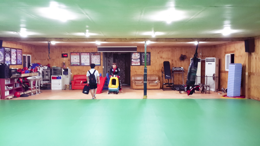 Grounds for Hapkido in Sangju.