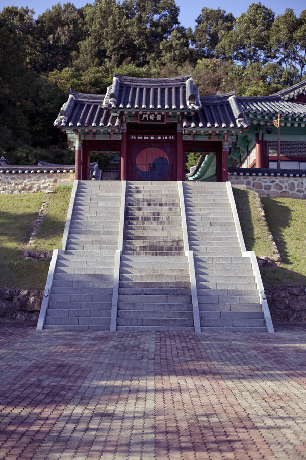 Bukcheon Battleground in Sangju, South Korea.