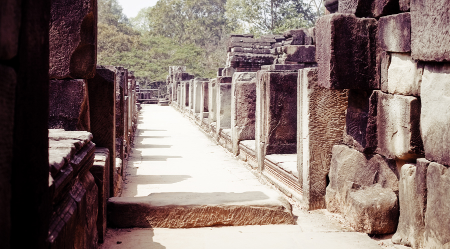 Open walkway at Baphuon in Angkor Thom, Cambodia.