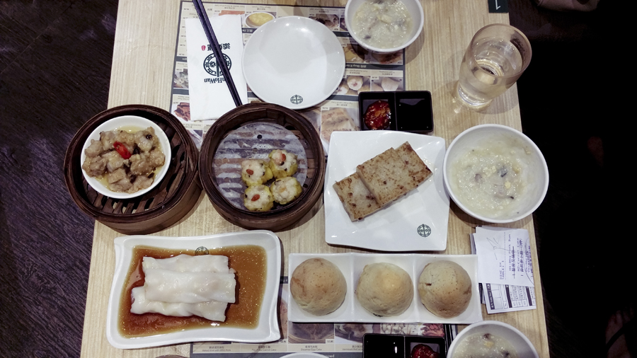 Dim Sum at Tim Ho Wan