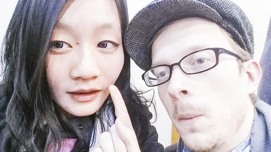 Allergic reaction from somaek binging in South Korea.