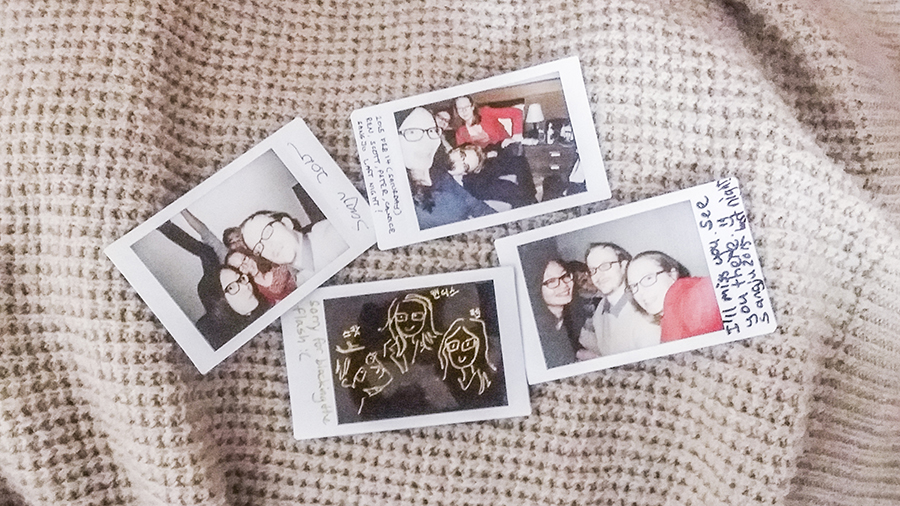Fujifilm Instax with Sangju buddies Pika and Cand.