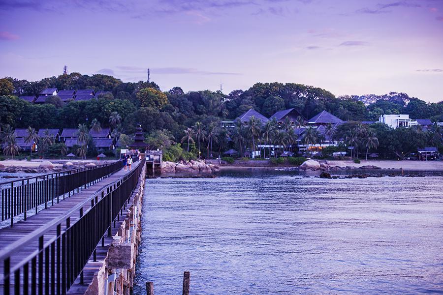 Turi Beach Resort, Batam, Indonesia.