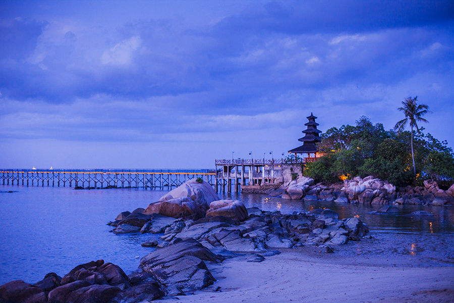 Jetty Turi Beach Resort, Batam, Indonesia.