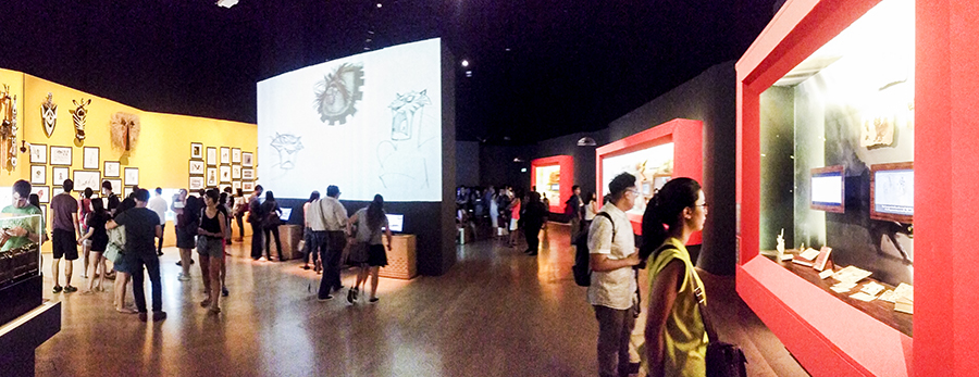 DreamWorks Animation The Exhibition At ArtScience Museum PUPUREN