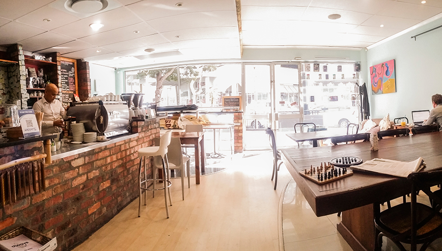 Decor at O'ways Teacafe, Cape Town.