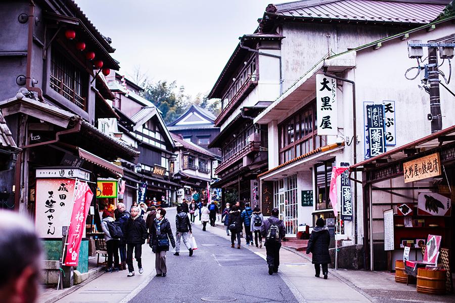 Omotesando at Narita, Chiba, Japan