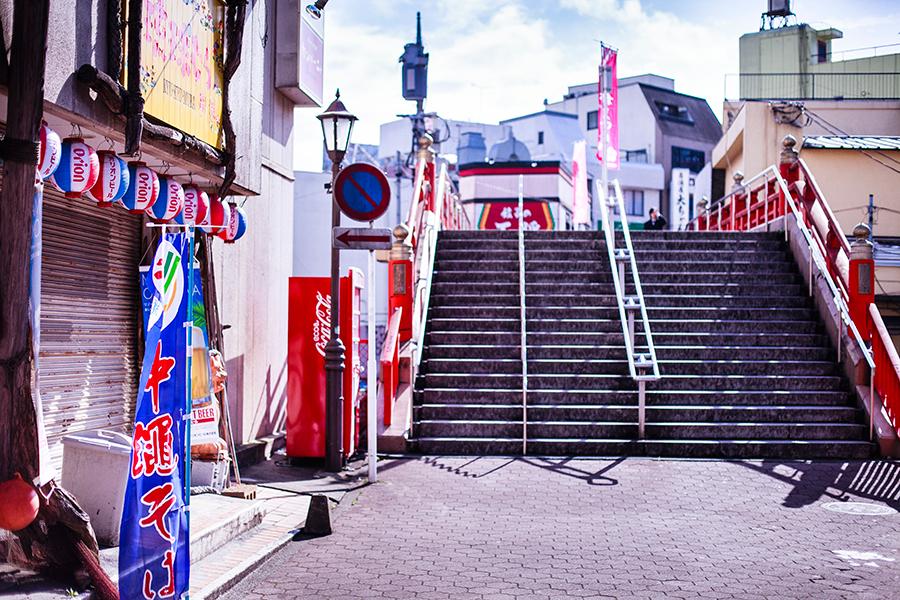 Stairs at Narita, Chiba, Japan