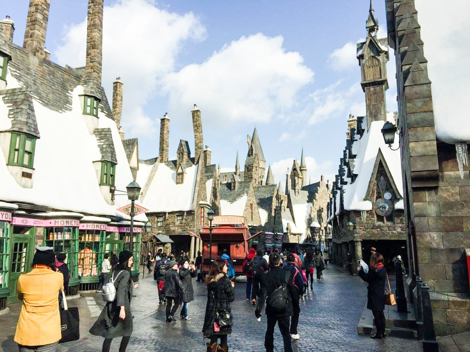 The Wizarding World of Harry Potter at Universal Studios Japan, Osaka. Photo by Ruru.