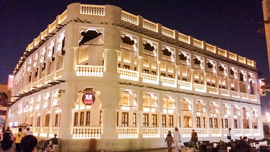 Architecture at Souq Waqif (سوق واقف), Doha, Qatar.