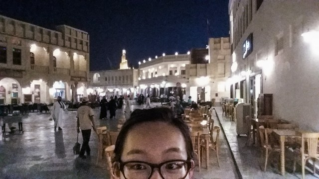 Selfie at Souq Waqif (سوق واقف), Doha, Qatar.