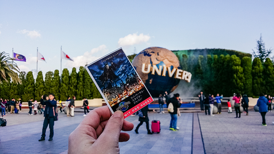 Harry Potter tickets at Universal Studios Japan, Osaka.