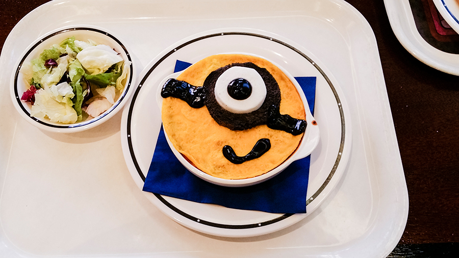 Minion Omurice at Universal Studios Japan, Osaka.