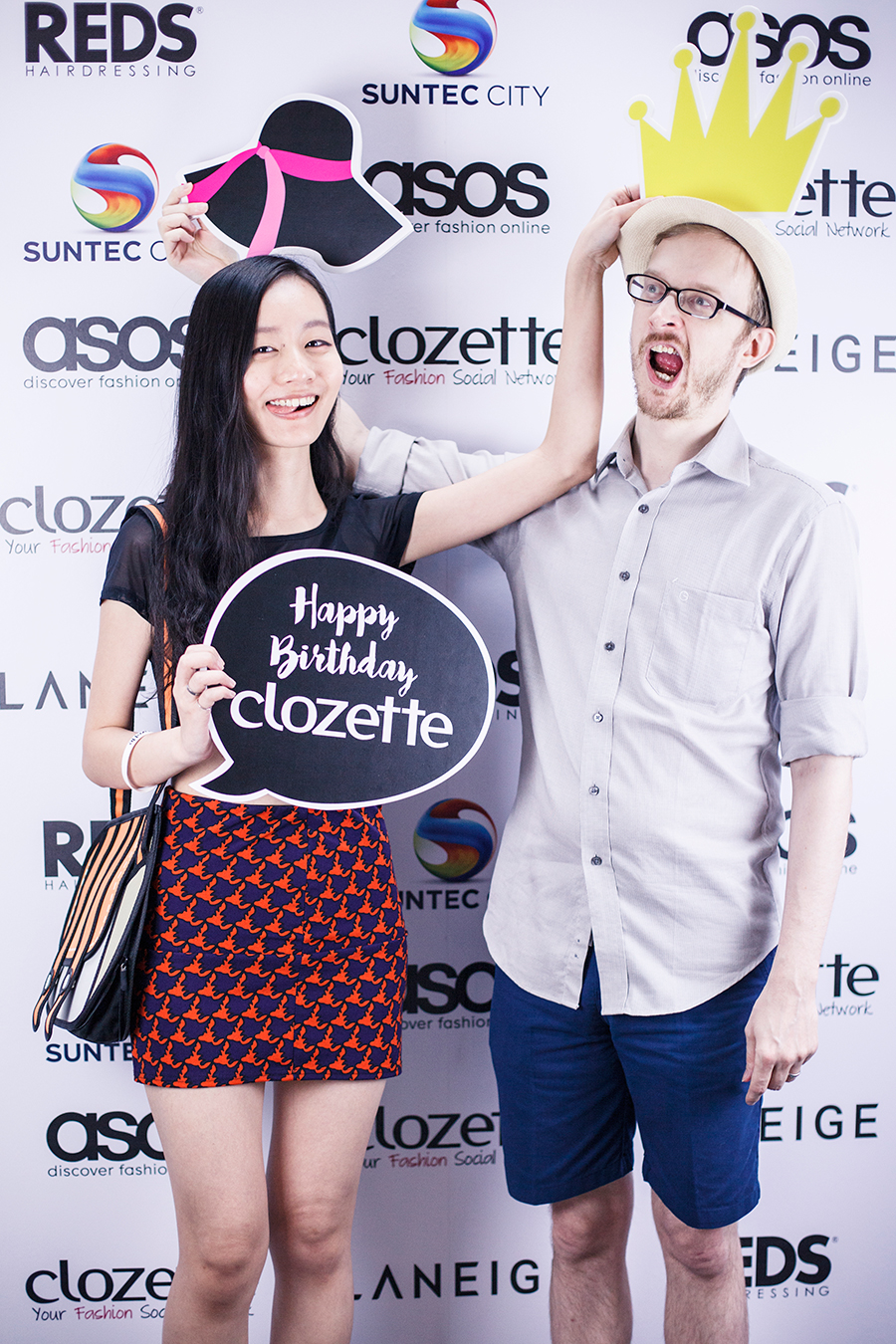 Ren & Ottie at Clozette Style Party 2016 in Suntec City. #ClozetteStyleParty