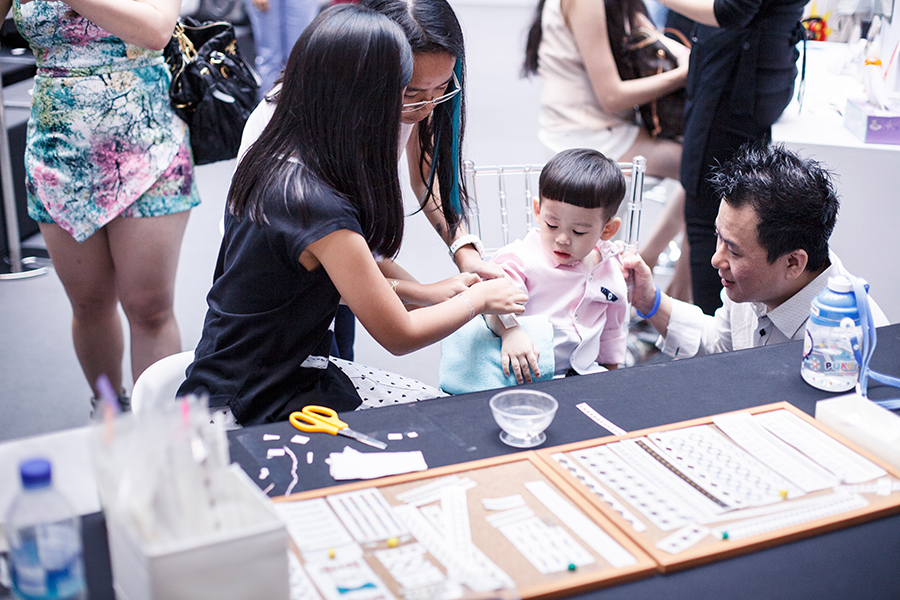 Temporary tattoos at Clozette Style Party 2016 in Suntec City. #ClozetteStyleParty