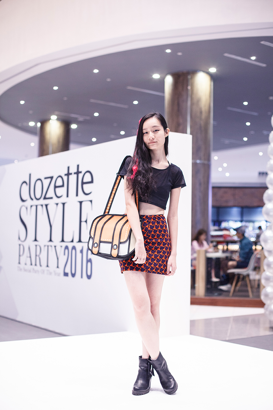 OOTD at Clozette Style Party 2016 in Suntec City. #ClozetteStyleParty