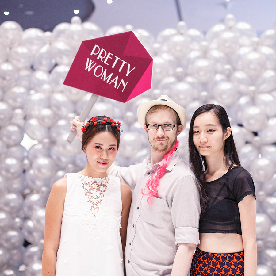 Jody, Ottie, and Ren at Clozette Style Party 2016 in Suntec City. #ClozetteStyleParty
