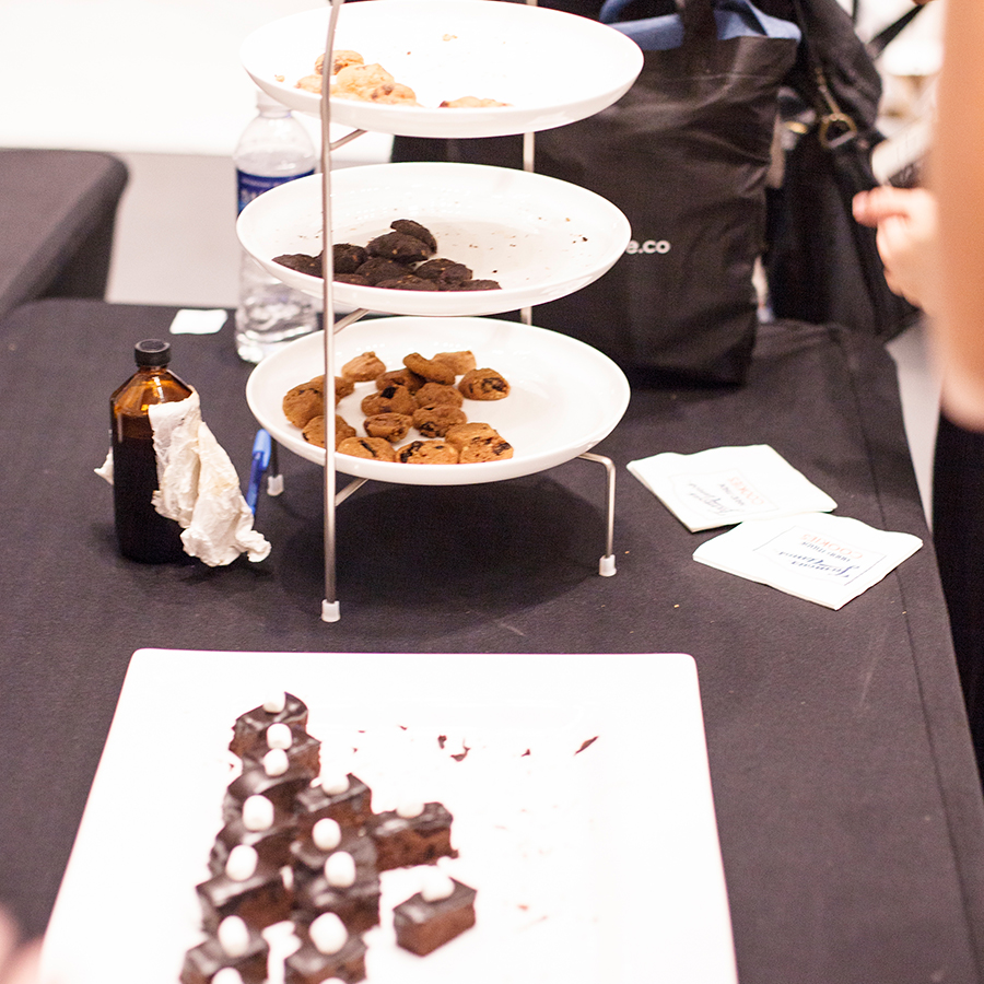 Chocolate treats at Clozette Style Party 2016 in Suntec City. #ClozetteStyleParty