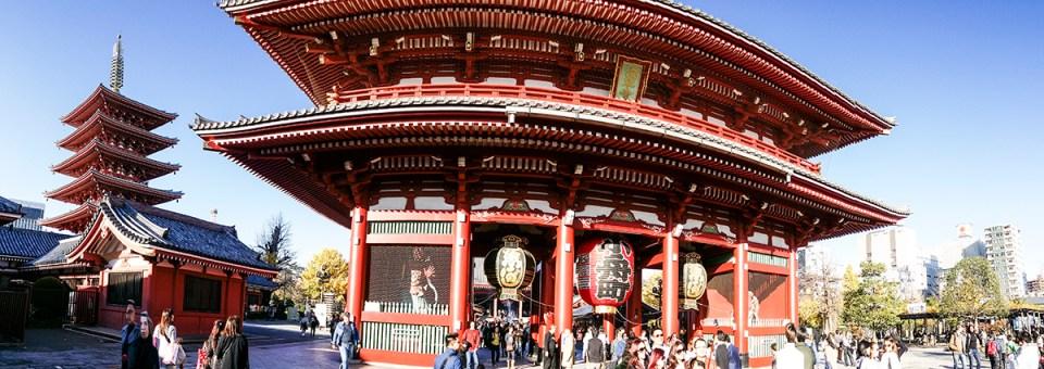 Sensoji, Tokyo, Japan.