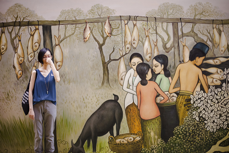 National Gallery Singapore: salted fish