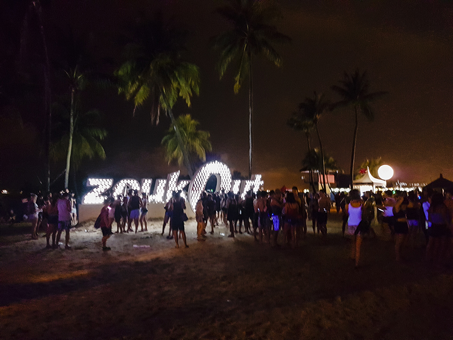 ZoukOut 2016 at Siloso Beach, Singapore.