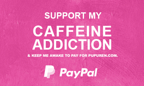 Buy pupuren a cup of tea at paypal.com