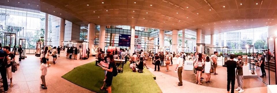 Singapore Design Week 2017 Market at National Library Building Singapore Level 1 Plaza.