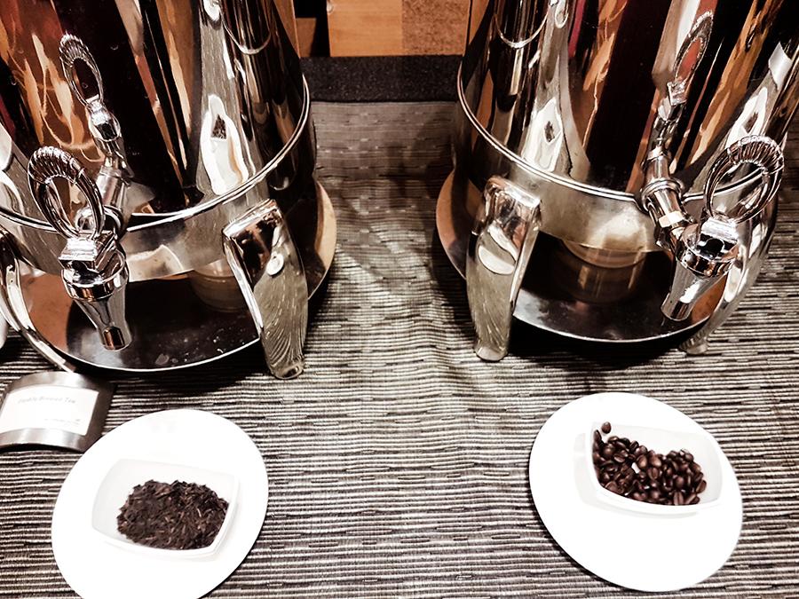 Tea and Coffee at FUZE2017 at Marina Bay Sands.