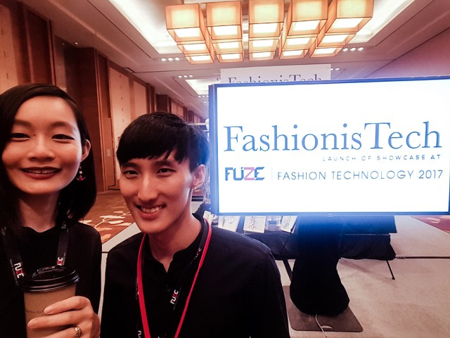 Ren and Daryl Goh at FUZE2017 at Marina Bay Sands.