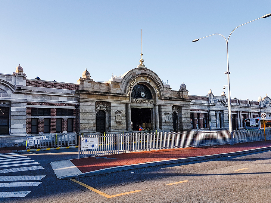 Fremantle Railway Station, Australia.