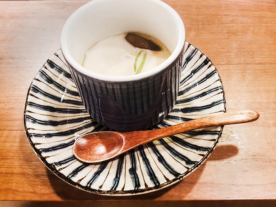 Chawanmushi in Makoto Sushi.