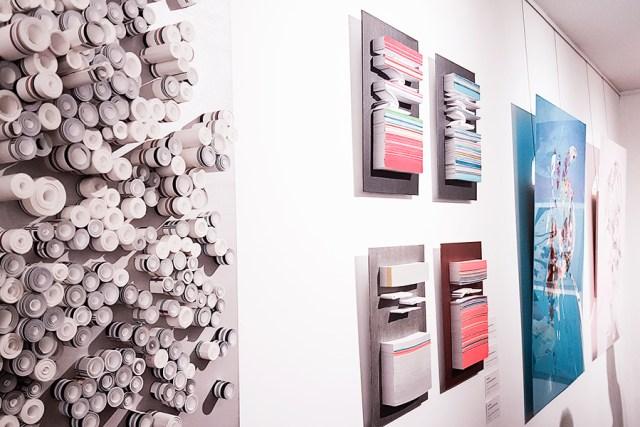 Artwork at NPE Art Residency Folds of Mind.