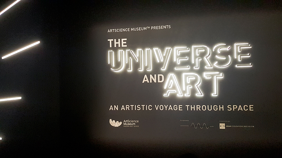 The Universe and Art: An Artistic Voyage Through Space, ArtScience Museum Singapore.
