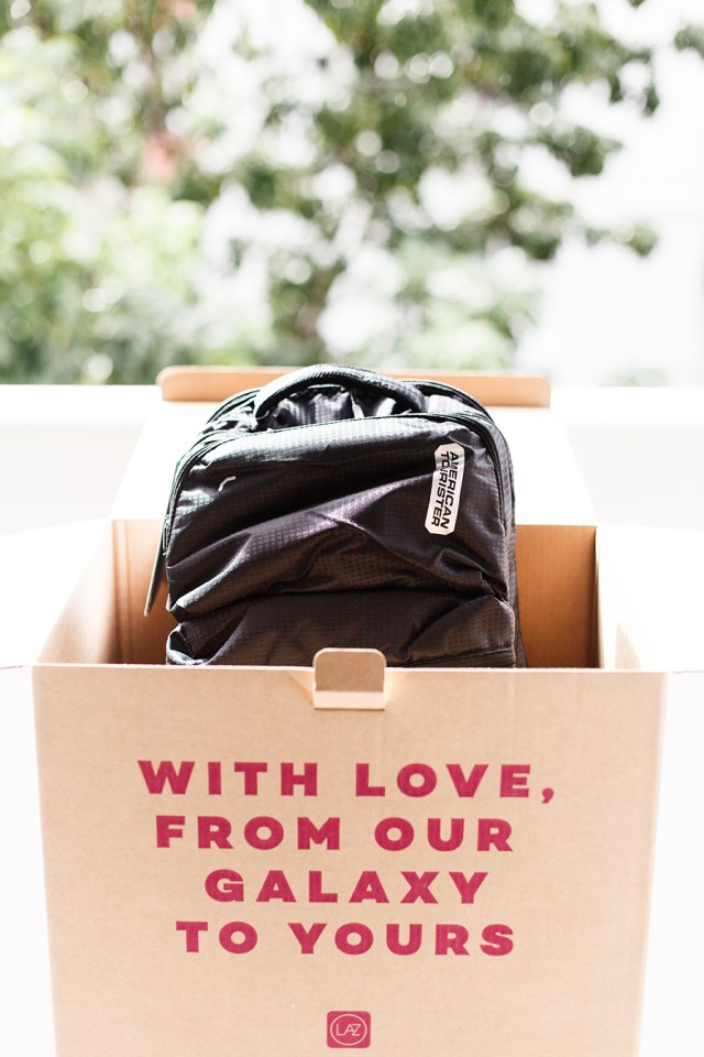 American Tourister x Lazada Online Revolution 2017 Surprise Box: American Tourister Dodge Backpack 03.
