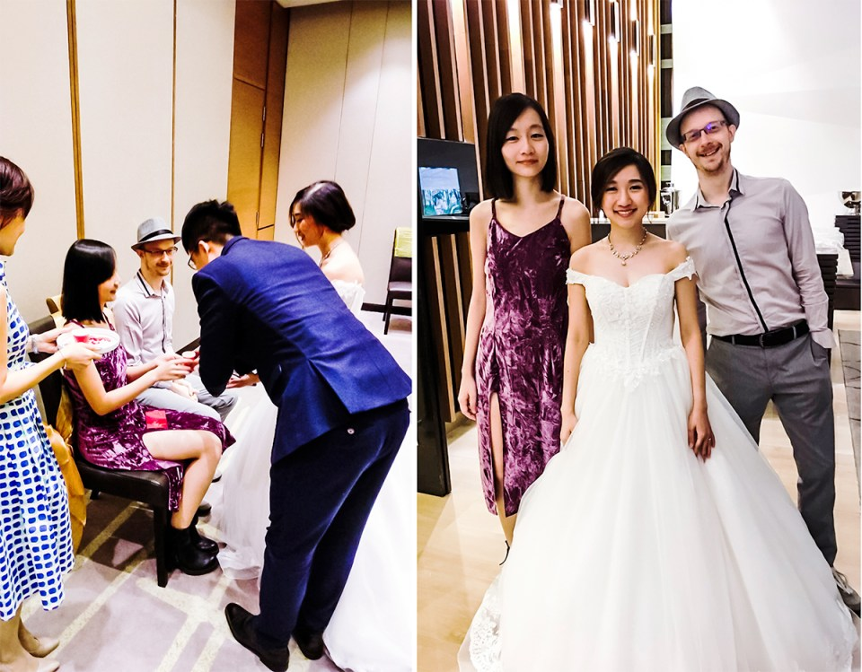RJ & JR Wedding at PARKROYAL on Beach Road, Singapore.