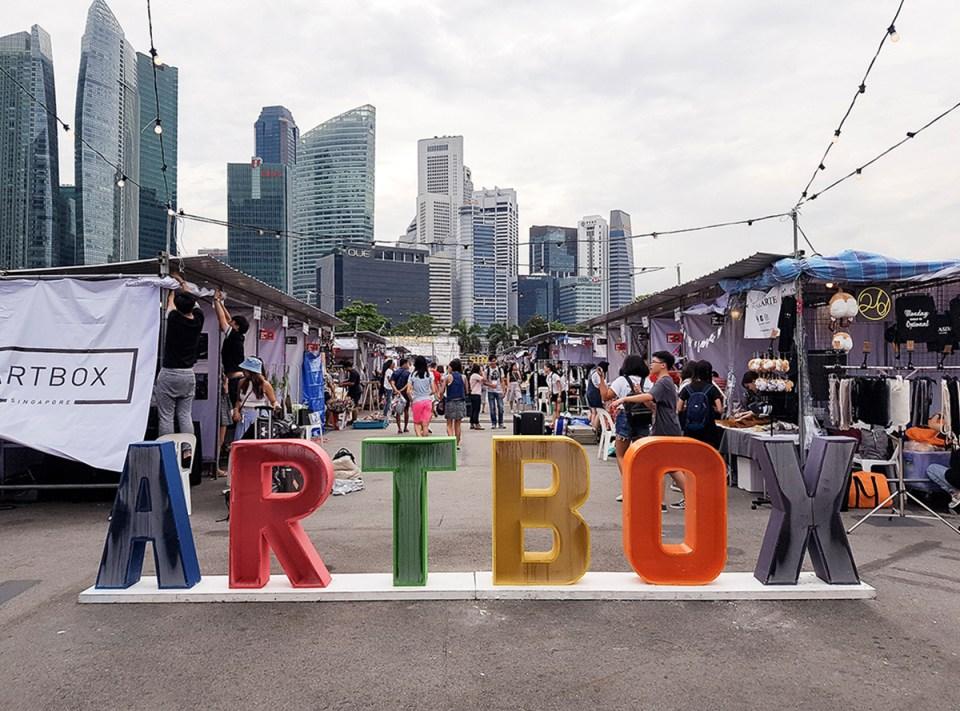Artbox Singapore 2018.