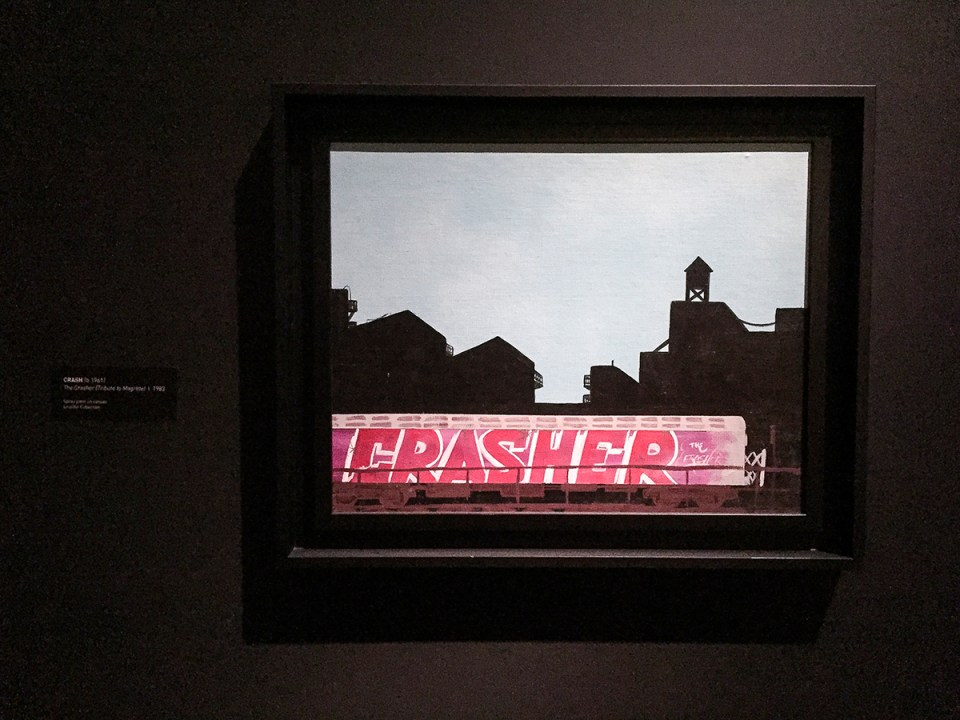CRASH - The Crasher (Tribute to Magritte)